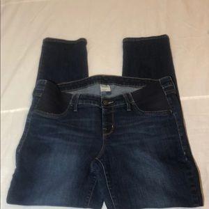 Old Navy Skinny Side Panel Maternity Jeans Size 14